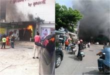 ด่วน!! ตายแล้ว 1 ไฟไหม้ร้านอาหารตะวันแดง ลามเข้าห้างดังฯ (คลิป)