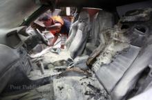 โหดไปนะ!! หนุ่มทะเลาะกับแฟนในรถ ก่อนจุดไฟเผา ในซอยสุขุมวิท 22