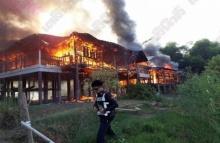 ไฟไหม้บ้านคลอกอดีตอาจารย์ ดับคาบ้านพร้อมสุนัข 7 ตัว