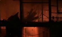 ไฟไหม้กุฏวัดวารินทราราม จ.อุบลราชธานี วอด 2 หลัง