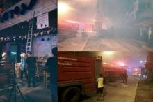 ระทึก!! ไฟไหม้สถานบันเทิงกลางเมืองอุตรดิตถ์ นักเที่ยวหนีตายอลหม่าน