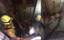 สลด!! หนุ่มเกาหลี ทะเลาะแฟนสาว เดินเปลือยกายตกปล่องลิฟต์ดับ