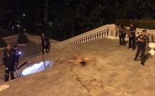 สยอง!!! หนุ่มเกาหลีพลัดตกจากห้องชั้น 32 คอนโดหรูพัทยา