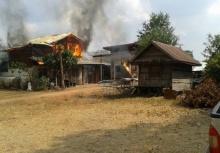 หึงแรง!!เฒ่า70 เผาบ้านเมียเก่าวอดจนตัวเองตายคากองเพลิง!!