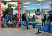 บุกเดี่ยวปล้นธนาารกรุงไทย 2นาทีได้เงินไป 2 แสน!!
