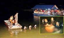 พลทหารหยุดพักจากงานชวนเพื่อนล่องแพเขื่อนกิ่วลม กระโดดลงเล่นน้ำจมหายกลายเป็นศพ