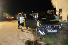 สุดสลด!! 2 แม่ลูก ถูกกระบะพุ่งชนในขณะจอดรถซื้อของ โดดหนีตายนับสิบ