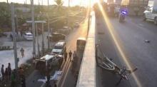 สุดสลด!! ลุงซ้อมปั่นจักรยาน เจอรถชนจนตกสะพานดับอนาถ