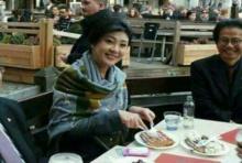 โซเชียลแชร์ภาพ'ยิ่งลักษณ์' นั่งรับประทานอาหารในต่างประเทศ