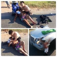 แห่ชื่นชม ! ตำรวจสละเครื่องแบบ ช่วยเด็กโดนรถชน