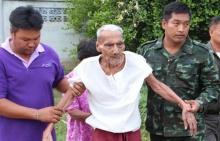 อุ้มคุณปู่ 101 ปีโดนปิดทางเข้าบ้าน หลังผู้ว่าออกปากจะเคลียร์ให้