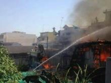 ไฟไหม้ย่านชุมชนเมืองหัวหินวอด 7 ล้านบาท