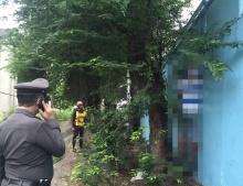 สลด!! ชายวัย 59 ผูกคอตายที่สะพานลอยเขตหลักสี่