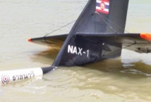 ระทึก!เครื่องบินวิจัยทร.เสียการทรงตัวร่อนตกทะเลสัตหีบ