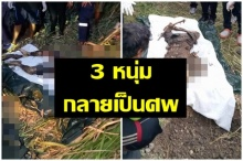 เจอแล้ว 3 หนุ่มหายตัวลึกลับ! พบเป็นศพโดนยิงก่อนลากมาฝังดิน