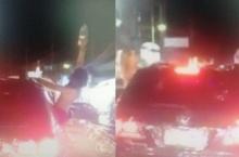 ตร.เร่งตาม2หญิงต่างชาติเปลือยอกเต้นบนรถ