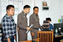ศานิตย์ นำทีมแถลงจับกุม 2 นักศึกษาอาชีวะดังย่านบางกะปิ