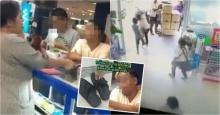 อย่างเดือด ! คลิปตำรวจปลอมจับลิขสิทธิ์ เจอแม่ค้าคนจริงไล่ด่า วิ่งหนีจนรองเท้าหลุด