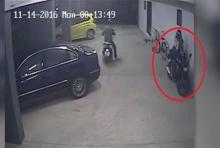 วงจรปิดมัดตัวโจรลักรถจักรยานยนต์ จ.นนทบุรี