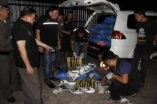 แก๊งขนยาเจอด่านอยุธยาทิ้งยาบ้า 6 ล้านเม็ดเผ่นหนี