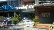 เกิดเหตุระเบิดบริเวณร้านซักอบรีดย่านปากเกร็ด เจ็บ 7 ราย