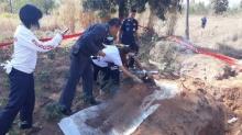 ตาวัย 84 ปีสำนักผิดมอบตัวฆ่าหลานฝังดิน เหตุไม่ทำมาหากิน ชอบขโมย