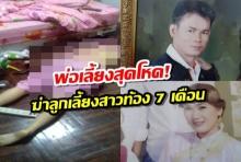 พ่อเลี้ยงสุดโหด!! แค้นเมียหนี ใช้ค้อนทุบลูกเลี้ยงสาวท้อง 7 เดือน เสียชีวิต