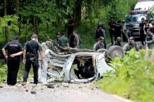 คนร้ายระเบิดรถโรงพักกรงปินังตำรวจดับ3เจ็บ2