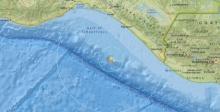 แผ่นดินไหวขนาด 5.5 นอกชายฝั่งประเทศเม็กซิโก