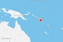 ระทึก!แผ่นดินไหว 7.7 นอกชายฝั่งหมู่เกาะโซโลมอน