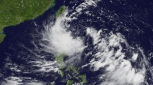 """ประกาศเตือนฉบับที่ 3 พายุ""""ด็อมเร็ย"""" และ""""ฝนตกหนักถึงหนักมากบริเวณภาคใต้"""""""