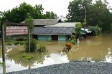 ตราดฝนตกหนักน้ำท่วม3อำเภอกว่า100 มม.