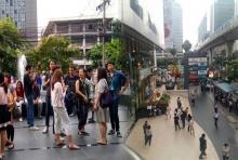 แตกตื่น!!คนกรุงระทึก! หนีลงจากตึกสูง เหตุแผ่นดินไหว 6.8 ที่พม่า