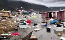 ช็อก! คลื่นสึนามิซัดหมู่บ้านในกรีนแลนด์พังยับ สูญหาย 4 คน