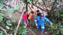 ระทึก!! ส.อบต.ผานกเค้าถูกน้ำป่าพัดจมหายไปพร้อมรถจักรยานยนต์