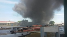 ข่าวด่วน!!! ไฟไหม้ กรมอู่ทหารเรือ