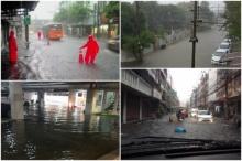 ฝนตกหนักหลายพื้นที่ในกทม. เกิดน้ำท่วมรอระบายในถนนหลายเส้น