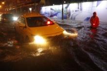 ฝนถล่มกรุง!! ตรวจสอบเส้นทางน้ำท่วมขัง