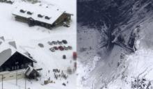 โตเกียวอ่วม หิมะตกหนักสุดใน4ปี! ภูเขาไฟปะทุ หิมะถล่มรีสอร์ตสกี