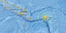 แผ่นดินไหว 7.5 แมกนิจูด เขย่าหมู่เกาะโซโลมอน