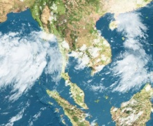 โล่งไปเปราะหนึ่งทั่วไทยฝนลด เหลือตกกลางๆ5พื้นที่