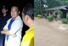 เดือดร้อนกว่า 400 ครัวเรือนแล้ว ผู้ว่าฯกาญจน์ สั่งอพยพผู้ประสบภัยหนีน้ำท่วม