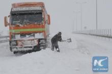 พายุหิมะครั้งใหญ่ที่สุดบุกโรมาเนีย