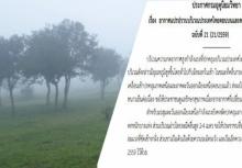 ประกาศฉบับที่21 กรมอุตุฯ หนาวต่อ ระวังคลื่นลมแรงอ่าวไทย