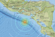 ระทึก!! แผ่นดินไหว 7.0 นอกฝั่งอเมริกากลาง เตือนสึนามิ