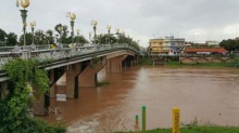 แจ้งเตือนแม่น้ำน่านเพิ่มสูงขึ้น จากอิทธิพลพายุปาข่า