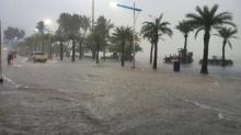 อ่วมเลย!!!พายุ หว่ามก๋อ ถล่มพัทยา น้ำท่วม การจราจรติดขัด!!