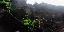 โคลนถล่มตายแล้ว 21 สูยหายอีกหลายร้อยคน ที่กัวเตมาลา