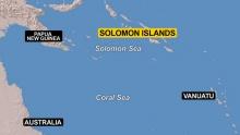 แผ่นดินไหวที่หมู่เกาะโซโลมอน 6.8 ริกเตอร์