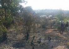 ไฟไหม้ป่าพรุ ลุกลาม ทำชาวบ้านป่วย